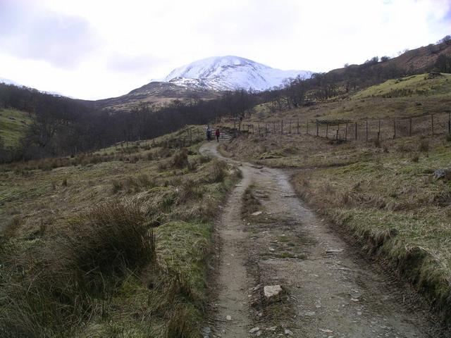 Track in Glen Vorlich