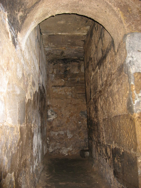 The 7th C Crypt, Hexham Abbey - monks' passage
