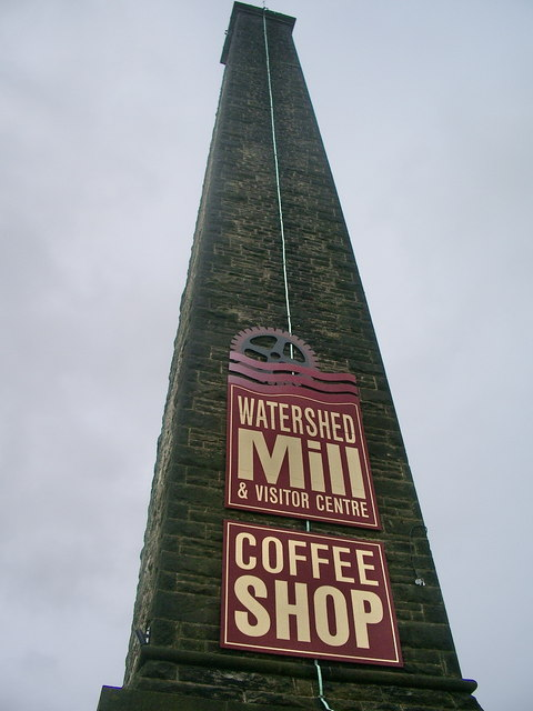 Watershed Mill, Sign