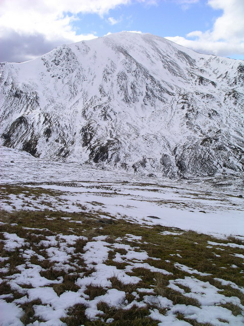 The south west slopes of Beinn Domhnuill