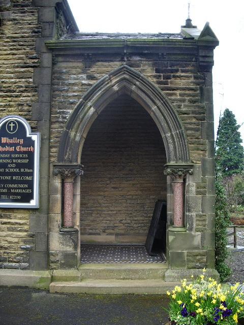 Whalley Methodist Church, Porch