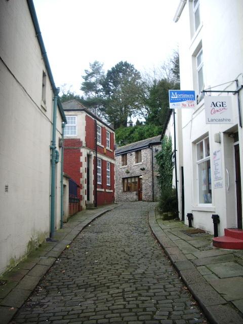 Back street off Castle Gate, Clitheroe