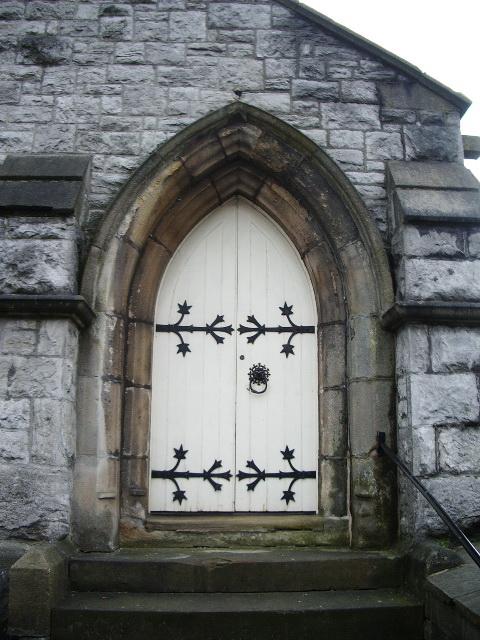 Clitheroe United Reformed Church, Doorway