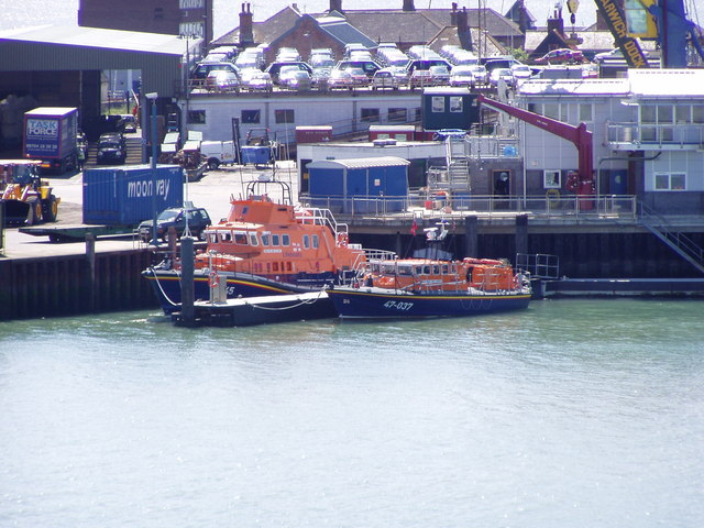 Harwich lifeboats