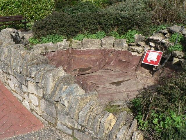 Bournemouth: Knyveton Gardens pond