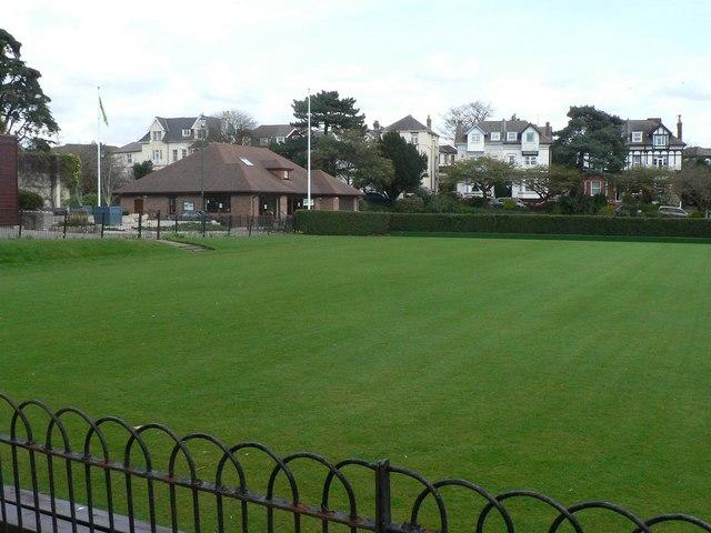 Bournemouth: Knyveton Gardens bowling green