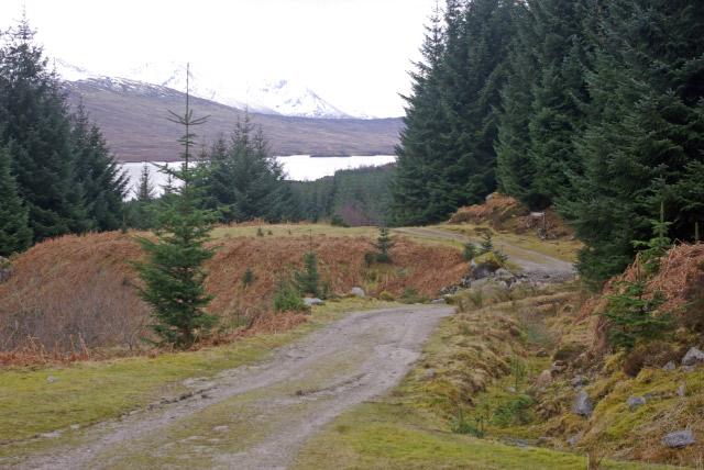 Track to Glencoe