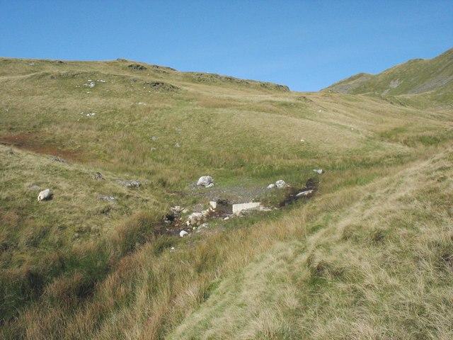 The upper Barlwyd valley