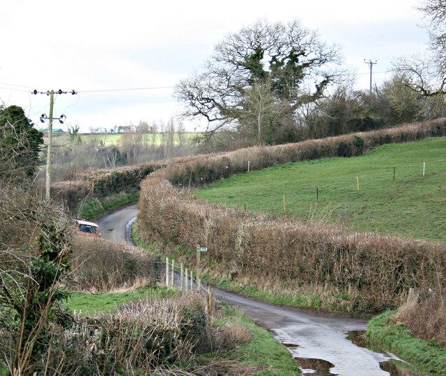 2008 : Faulkland Lane near Stony Littleton