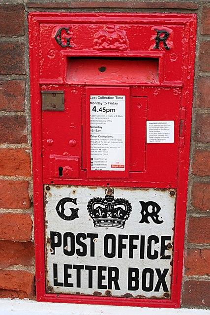 Buckden Post Box