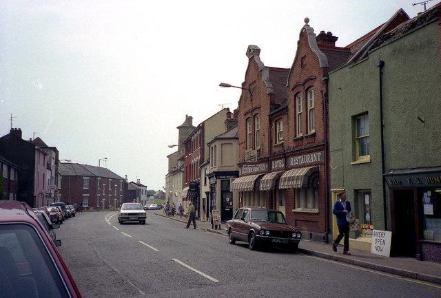 Street view in Harwich