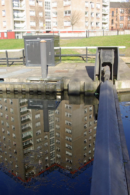 Dalmuir Court Reflection