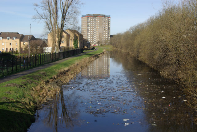Forth and Clyde Canal, Dalmuir