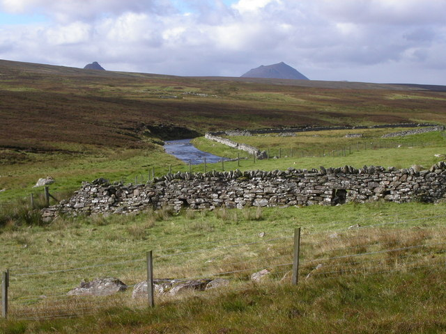 Achnaclyth river and moor