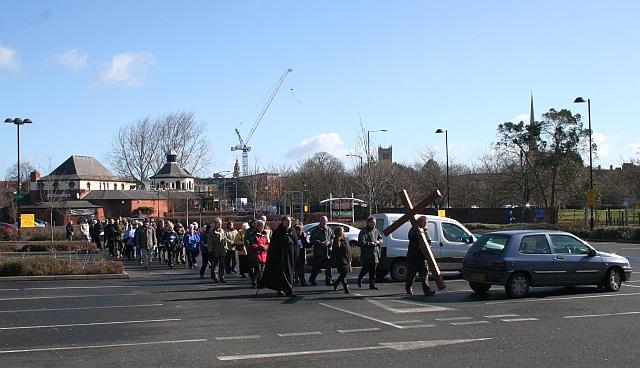 Good Friday Cross, PC World Car Park, Worcester