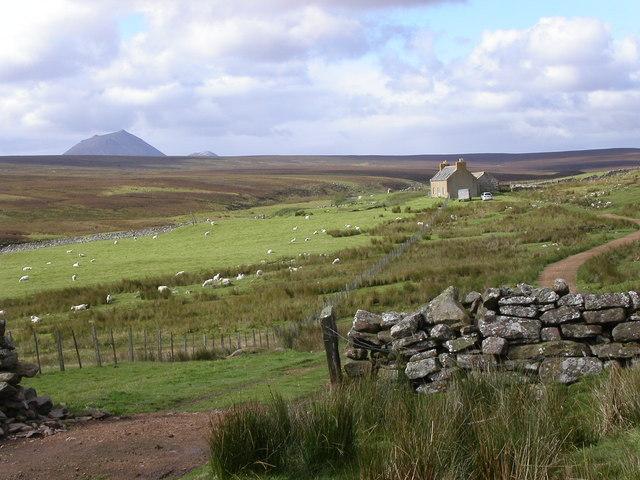 Achnaclyth old farmstead