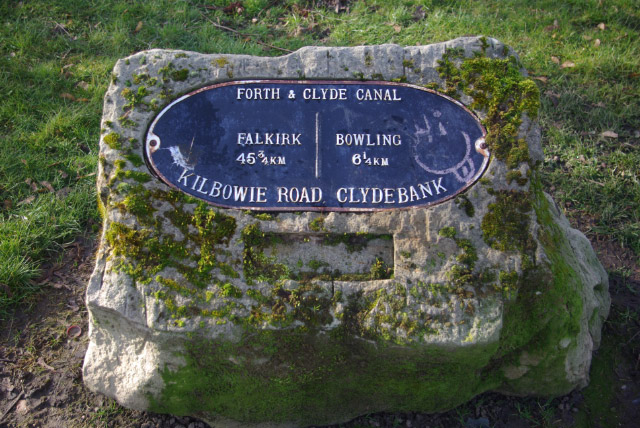 Distance Marker, Forth and Clyde Canal