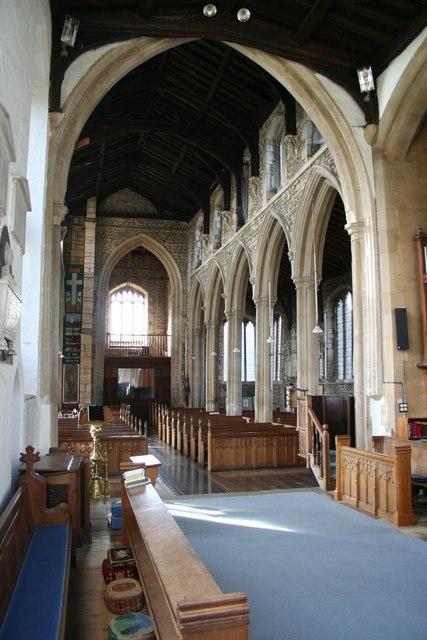 St.Mary's church interior