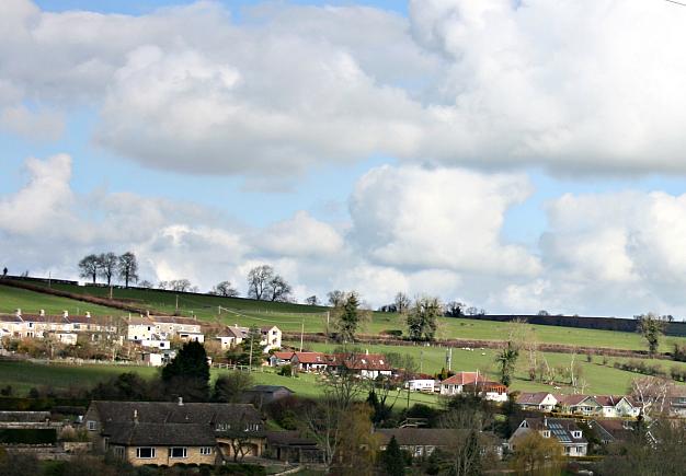 2008 : View of Shoscombe near Peasedown St. John