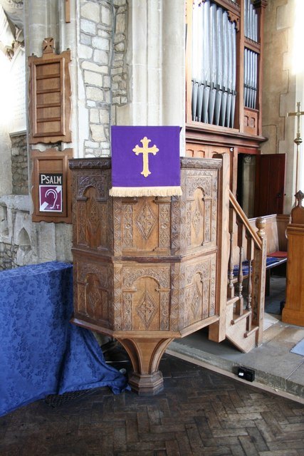 St.Mary's pulpit