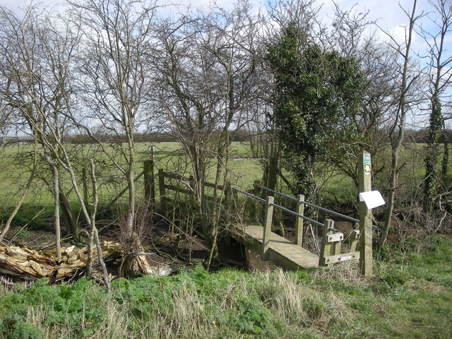 Sawbridge Footbridge