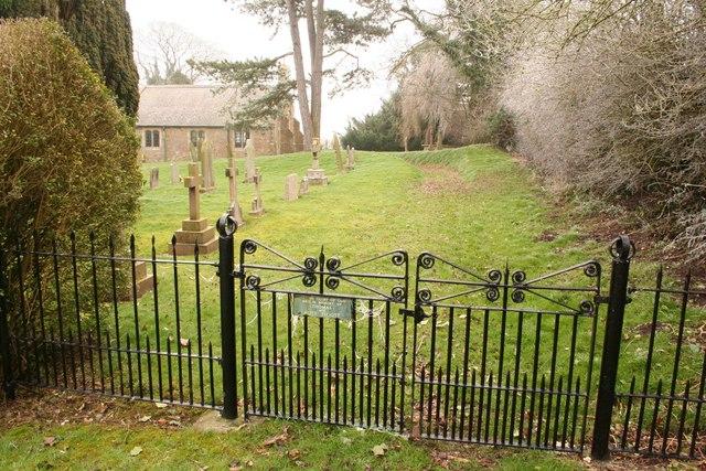 All Saints' church gates