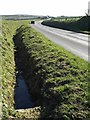 SX1788 : Ditch beside the B3262 by Derek Harper