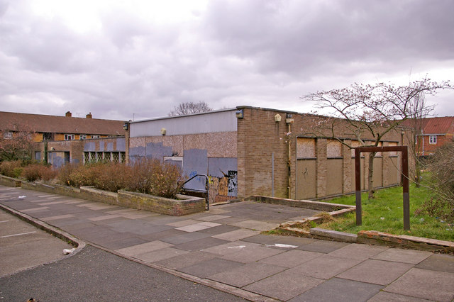 Former Merryhills Library building, Enfield