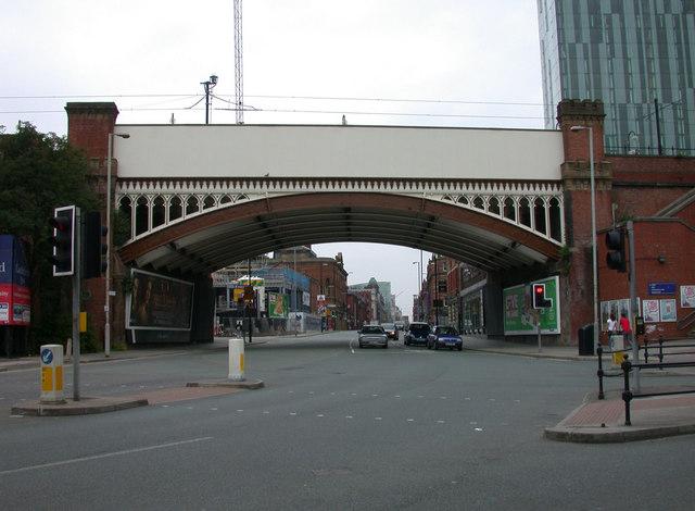 Deansgate Metrolink viaduct