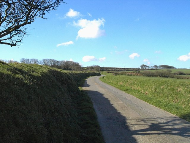 Lane near West Holme Farm