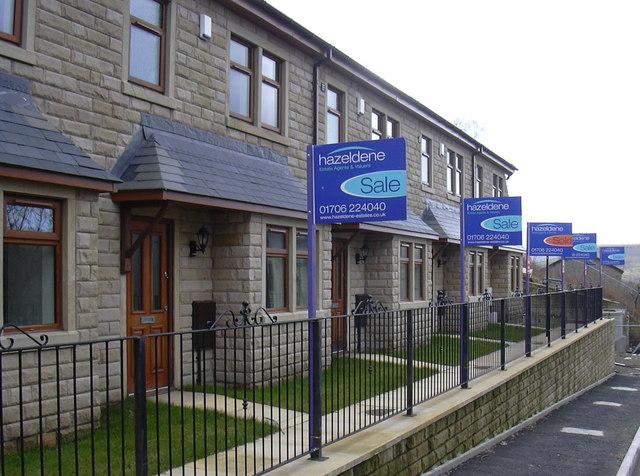 New Houses, Grane Road