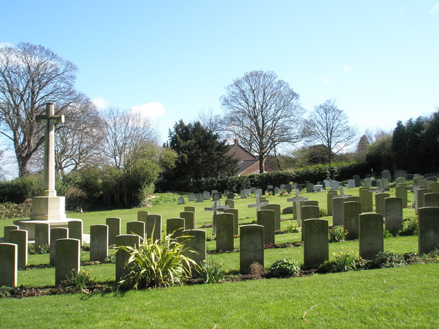 Military Cemetery at Christ Church,, Widley