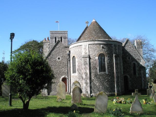 Rear of Christ Church, Widley