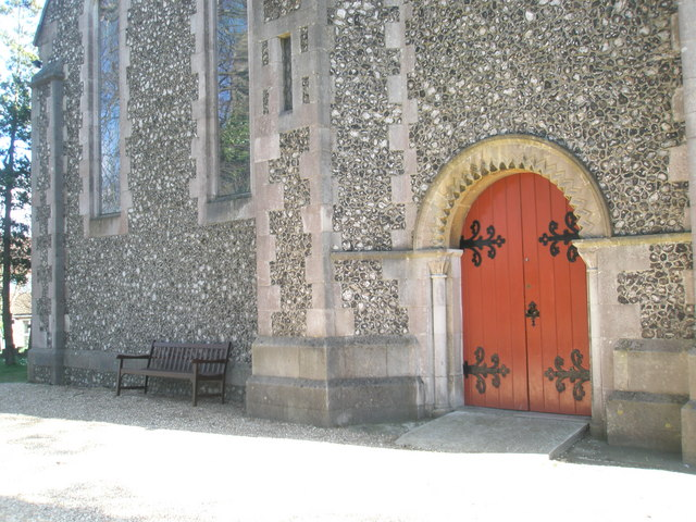 Entrance to Christ Church, Widley