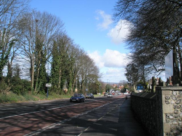 London Road, Widley