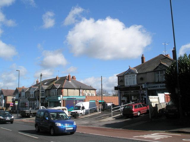 Shops in London Road, Widley