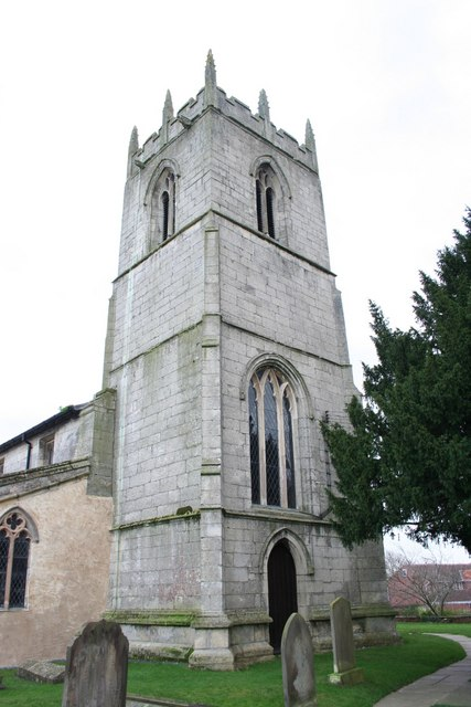 All Saints' church tower