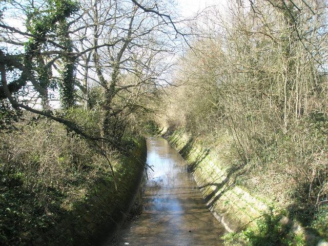 Stream near Purbrook Heath