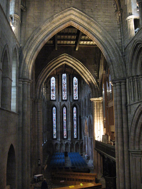 The North Transept, Hexham Abbey