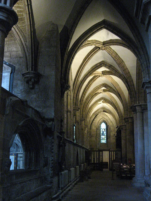 The North Choir Aisle, Hexham Abbey