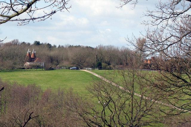 Oast House at Lower Gate Farm, Peasmarsh, Starvecrow Lane, East Sussex