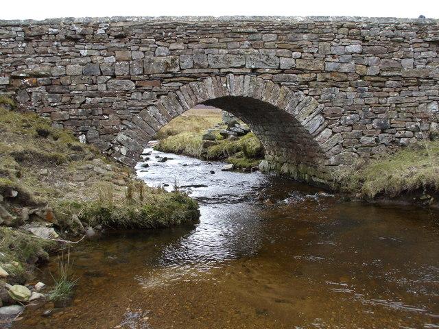 Stone Bridge over Apedale Beck