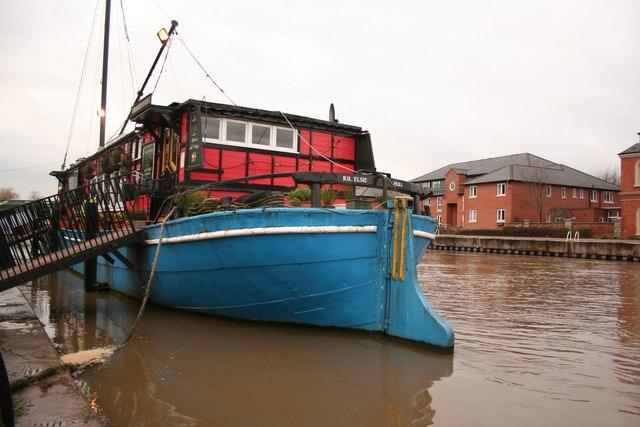 Castle barge