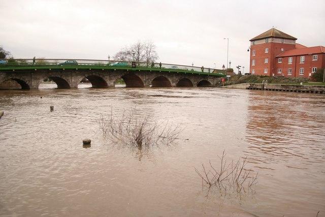 River Trent at Newark