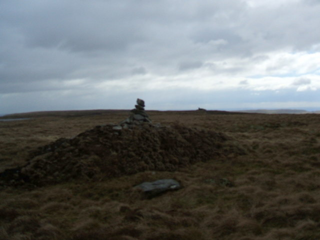 The summit of Birks Fell