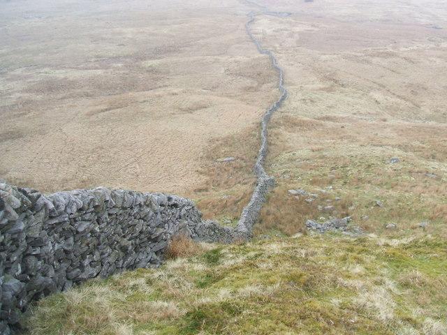 Wall on Birks Fell