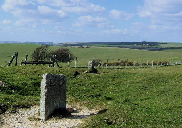 Boundary Stones at Five Lord's Burgh