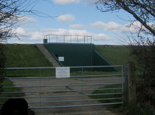 Rathfinny Pumping Station, above Seaford, East Sussex