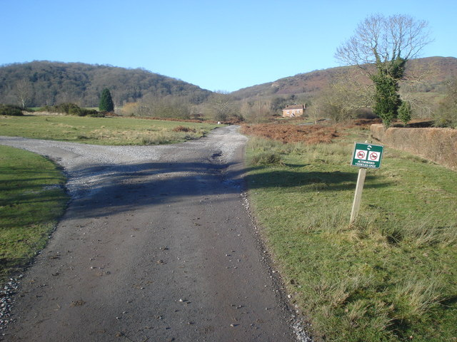 Track junction at Huntsbridge