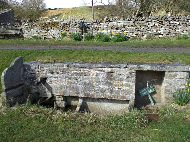 Stone Trough & Village Pump